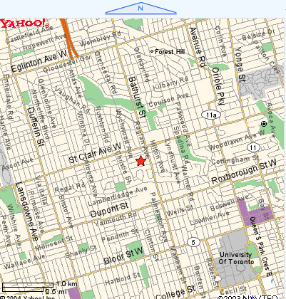 Map Of Canada Toronto Ontario.Cottage In The City Toronto Location Map Toronto Canada Bed And
